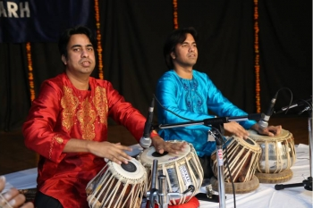217th Baithak organised by Kendra performed by Khan brothers
