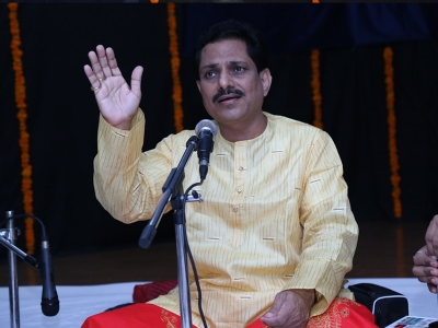 Pt. Yadavraj is performing in 225th Baithak of Kendra on 11 August