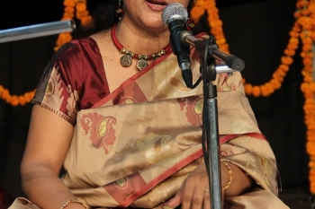 227th baithak was performed by Padmaja Chakraborty-min