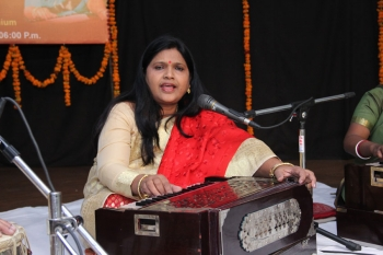 Nila sinha roy performing at 229th Baithak of kendra