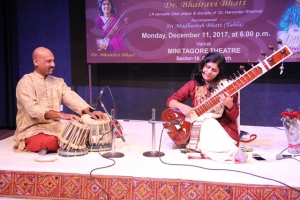 241st Monthly Baithak programme at Mini Tagore Theatre organised by Pracheen Kala Kendra