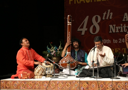 Pt. Sarathi Chatterjee performing in 48th Sammelan