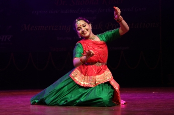 Shubhra Koser performing in special programe organised by Kendra