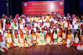 Pracheen Kala Kendra's 8th convocation at Punjab Kala Bhawan