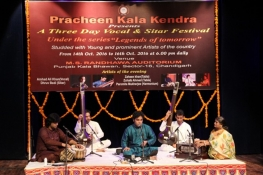 A three day Vocal & sitar Festival