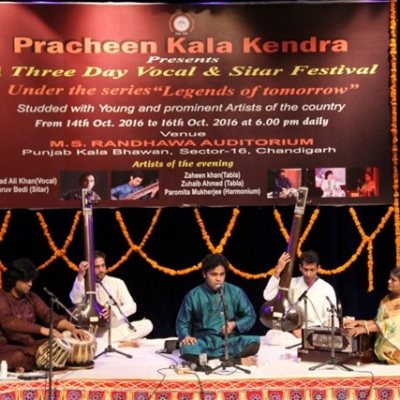 arshad_ali_khan_with_his_accompanists_at_vocal__sitar_festival_of_kendra