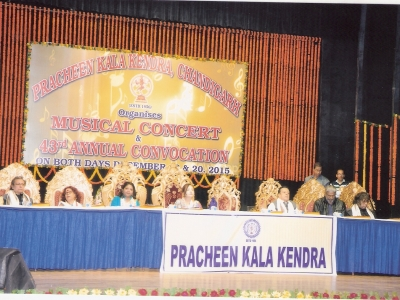 Hon'ble guests at 43rd Annual Convocation