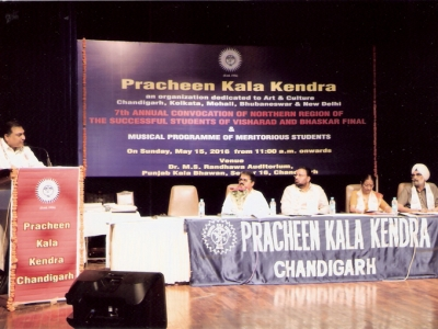 Honble Guests at Convocation