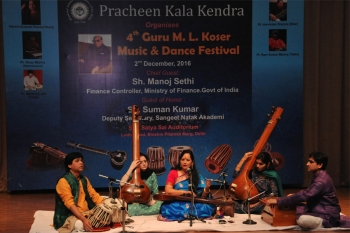 Sunanda Sharma performing at 4th Guru M.L. Koser Festival of Music and dance at Delhi