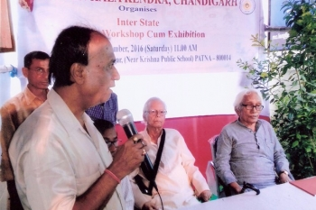 press_meet_on_the_ocasion_of_painting_workshop_and_exhibition_organised_by_kendra_at_patna