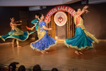 Special programe organised by ICCR in colloborattion with Pracheen Kala kendra