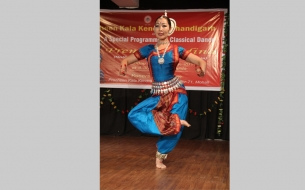 Madina from Latvia Performing in special programme organised by Kendra at Mohali - 9th February
