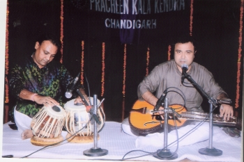 11 August, Dipankar Roy Choudhury performing at 202nd Monthly Baithak Programme