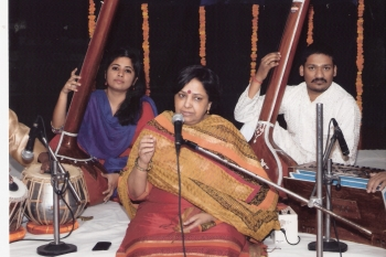 11 May, Neera grover performing at 199th Monthly Baithak Prog.