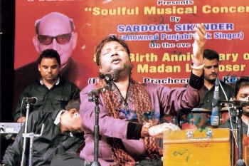 20th June ,Sardool Sikander performing at 200th Monthly Baithak celebration