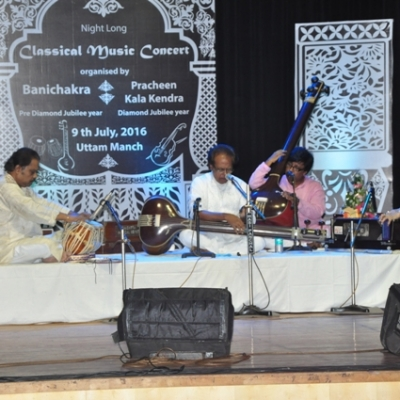 Renowned singer Alok Chattapadhyay presents his vocal recital