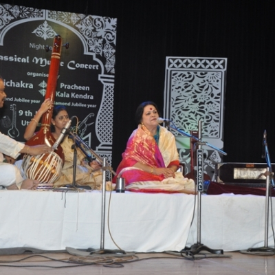 Renowned singer Haimanti Shukla is presenting vocal recital