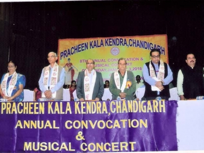 Hon'ble guests at Convocation