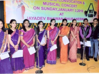 musical concert in convocation at Odisha