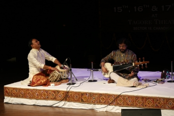 Concluding day of Hemantotsav sarod presentation by Joydeep Ghosh