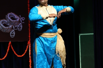 Amit gangani performing in Kathak Utsav organised by Pracheen Kala Kendra and kathak kendra
