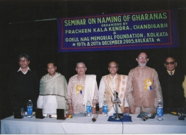 Seminar on Renaming of Gharanas at Kolkata 2005