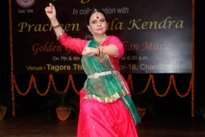 Special programme of Music and Dance in collaboration with Sangeetam at Chandigarh