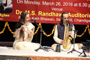 Special programme of music organised by Pracheen Kala Kendra at Punjab Kala Bhawan 26 March 2018