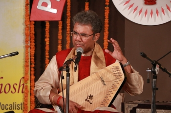 Pt. Suman Ghosh performing in Vocal Recital at Kendra complex