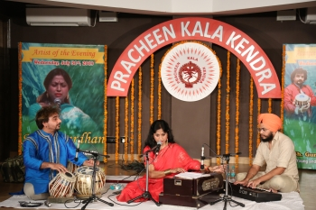 Special programme of light music organised by Pracheen Kala Kendra (1)