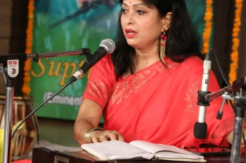 Supti bardhan performing in special programme organised by Kendra